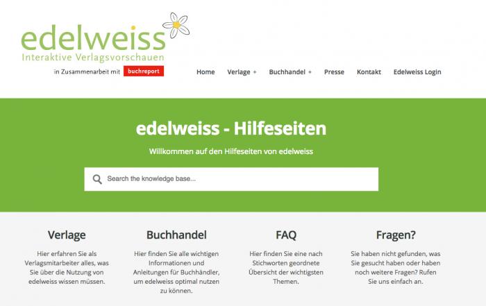 edelweiss-Hilfeseite_digitale Verlagsvorschau