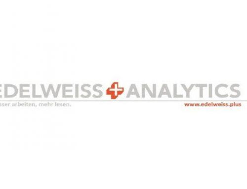 EDELWEISS+ integriert Auswertungs- und Analyse-Tools für den deutschen Buchmarkt